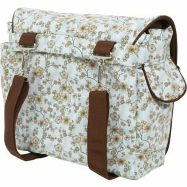 Bumble Bags Jessica Messenger Backpack Blue Latte