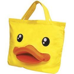 Yellow Rubber Duck Kids School Tote Bag Handbag Purse