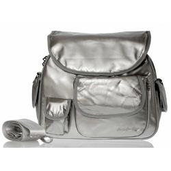 Baby Bee Bags Eglan Sky Silver Designer Baby Diaper Tote