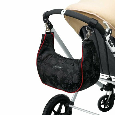 Petunia Pickle Bottom Touring Tote Diaper Black Orchid
