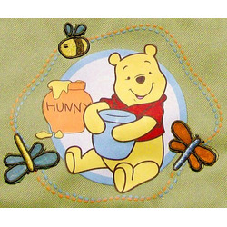 "Disney Baby Pooh ""Happy Pooh"" Large Diaper Bag"
