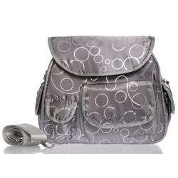 Baby Bee Bags Circles of Love Designer Baby Diaper Tote