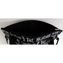 Nightmare Before Christmas Handbag Bag Tote Black