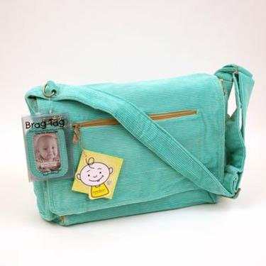 ORE Originals Cord Diaper Bag Aqua