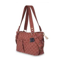 Baby Kaed Avi-U Diaper Bag in Rust and Cream