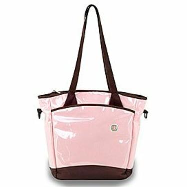 Pink Chocolate Sling Tote Diaper Bag