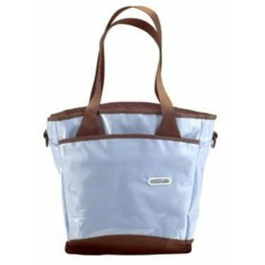 Fleurville Sling Tote Diaper Bag - Blue Chocolate