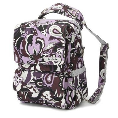 Ju Ju Be Purple Paisley Pack a Be - JUJ045