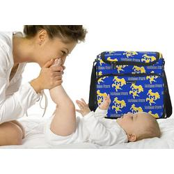 McNeese State Cowboys Logo Diaper Bag - Baby Bag for New Dad Father or Mom NEW Mother Baby Shower Gift Idea
