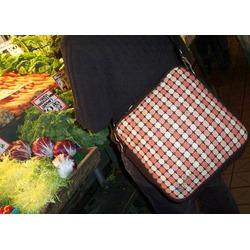 O Yikes Square Diaper Bag - Avocado/ Chocolate