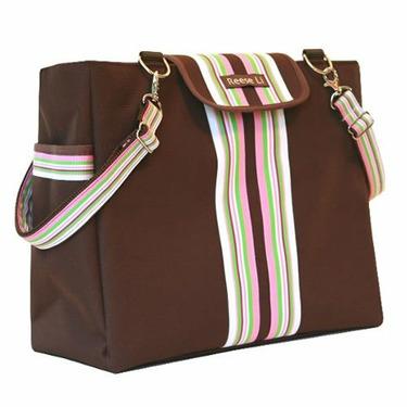 Cocoa Blush Lexington Diaper Bag