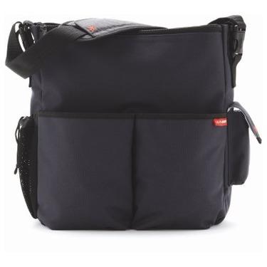 Skip Hop Diaper Bag-Charcoal Duo Deluxe - SKH016