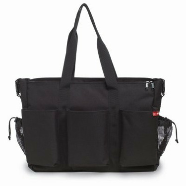 Skip Hop Diaper Bag-Black Duo Double Deluxe - SKH030-1