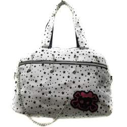 Little Black Star Purse Shoulder Tote Hand Bag