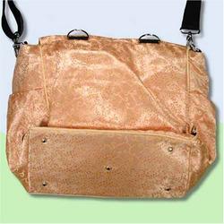Gold Vines Silk Boutique Diaper Bag