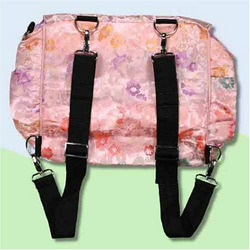 Pink Hawaii Silk Boutique Diaper Bag