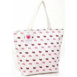 Super Lover Pink Doggies Tote Shoulder Bag New S12