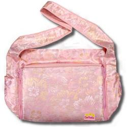 Creame Flowers Silk Boutique Diaper Bag