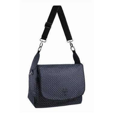 LASSIG GOLD LABEL Reversible Messenger Bag - Black