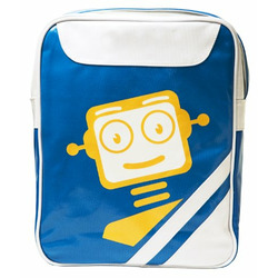 Cevan Academy Campus Reporter Messenger Bag, Blue