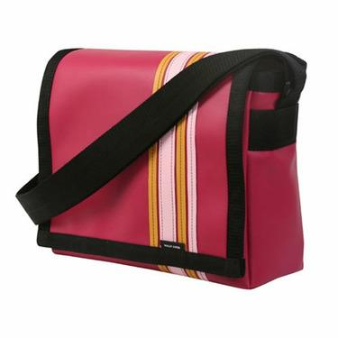 Raspberry Airborne Messenger Bag