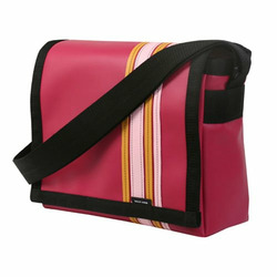 Raspberry Airborne Messenger Bag