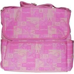 Baby Phat Pink Alphabet Diaper Bag