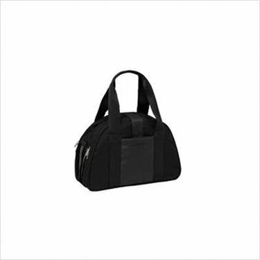 Shoulder Messenger Diaper Bag in Casual Black