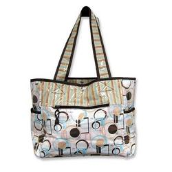 Tulip Tote Diaper Bag - Dots