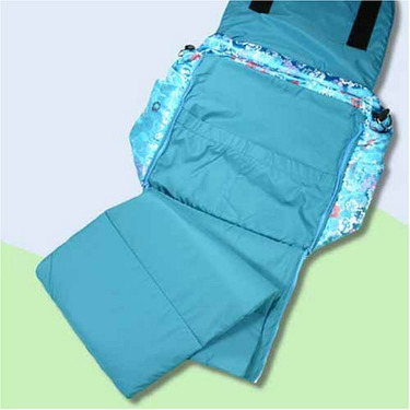 Blue Hawaii Silk Boutique Diaper Bag