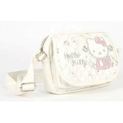 Hello Kitty Sling Messenger Bag Handbag White