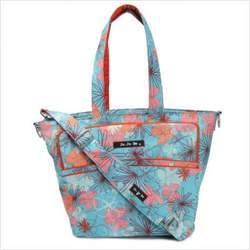 Be Spicy Diaper Bag Tote in Groovy Garden