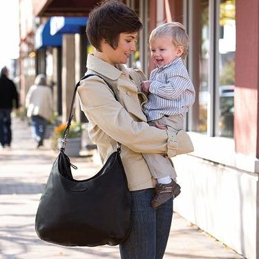 Chelsea & Scott Leather Diaper Bag