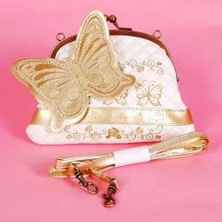 Hello Kitty Butterfly Mini Bag Tote Purse Strap
