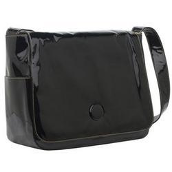 Black Patent Soapbox The Moppet Diaper Bag - Black Patent