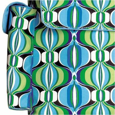 Contempo Blue Messenger Diaper Bag