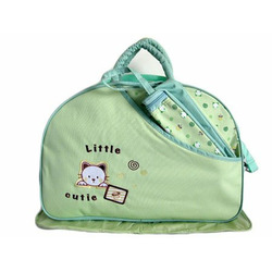 Snoopy Large Baby Diaper Bag with Changing Pad