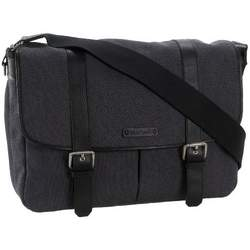 StorkSak Aubrey Messenger Diaper Bag,Charcoal,one  size