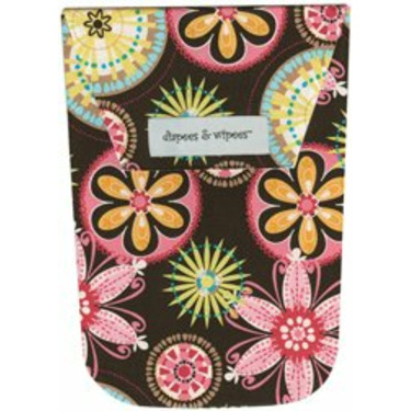 Diapees and Wipees Accessory Bag - Carnival Bloom