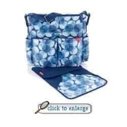 Skip Hop Duo Glam Diaper Bag - Blue/Teal