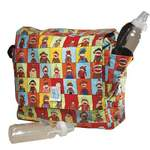 Logan Messenger Diaper Bag in Monkee