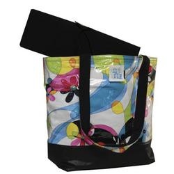 Madison Tote Diaper Bag in Flower Power