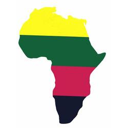 Africa Tote Bag Black