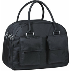 Lassig Gulliver's Eco-Friendly Diaper Bag, Patchwork Black