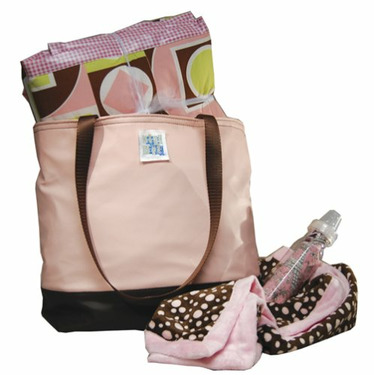 Shower Diaper Bag Pink Girl