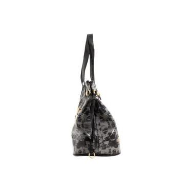Ed Hardy Purse Tote Bag Diaper Bag Coming up Roses w/ Swarovski Crystal Bling