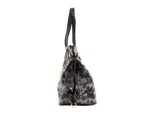 2924ba080f44 Ed Hardy Purse Tote Bag Diaper Bag Coming up Roses w  Swarovski Crystal  Bling Image Gallery