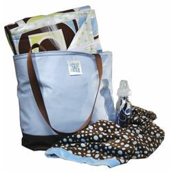 Shower Diaper Bag Blue Boy