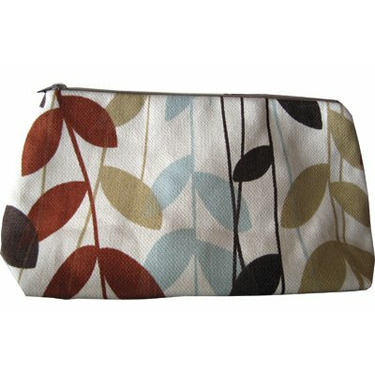 Skylar Cosmetic Bag in Jungle Fern