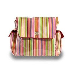 DO NOT USE Mothership Diaper Bag - Pink Stripe